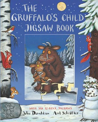 Book cover for The Gruffalo's Child Jigsaw Book